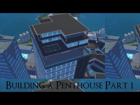Glamorous Grey Penthouse Part 1 ~ Sims 4 Speed Build