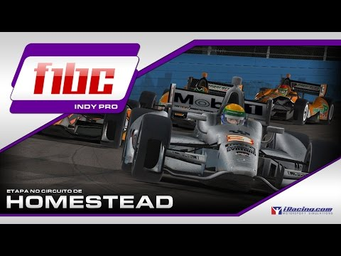 F1BC INDY PRO 2017/1 @ HOMESTEAD | IRACING DW12