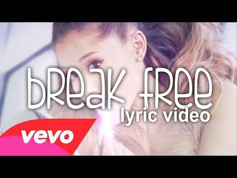 Ariana Grande ❤ Break Free {ᴜɴᴘɪᴛᴄʜᴇᴅ ʟʏʀɪᴄ ᴠɪᴅᴇᴏ} {ft. Zedd}