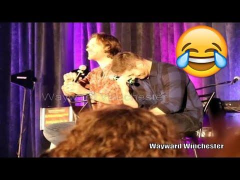 Jared Padalecki Can't Say Sheet & Jensen LOSES IT ORLCON 2018