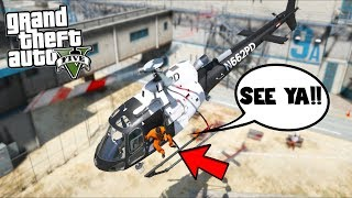 All roads led to this escape!! (GTA 5 Mods - Prison Break Gameplay)