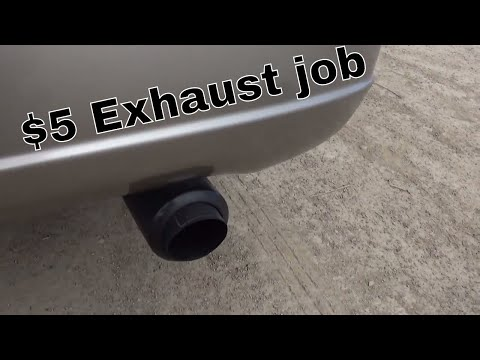 How i made my stock exhaust sound nice [2003 Honda civic 1.7]
