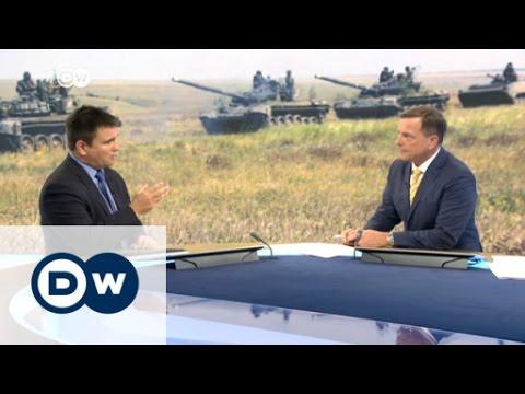 Klimkin talks with DW about violence in Ukraine | DW News