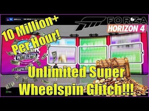 Xbox One - Forza Horizon 4 Unlimited super wheel spins VIP