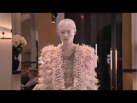 Balmain Paris Haute Couture Spring Summer 2019 Show