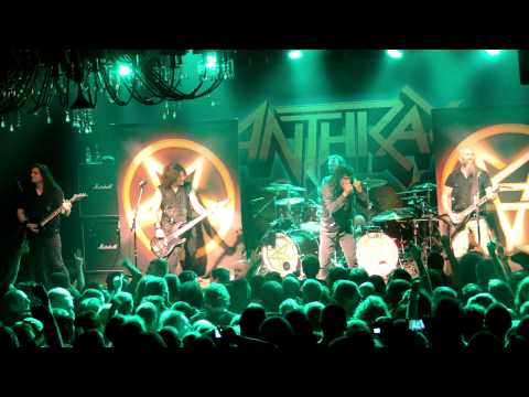 Anthrax I Am The Law Tel Aviv  | אנתרקס בתל אביב