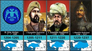 Anadolu Selçuklu Devleti Sultanları || Sultans of Anatolian Seljuk State