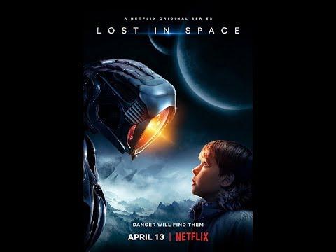 Netflix Lost In Space : Parker Posey and Ignacio Serricchio