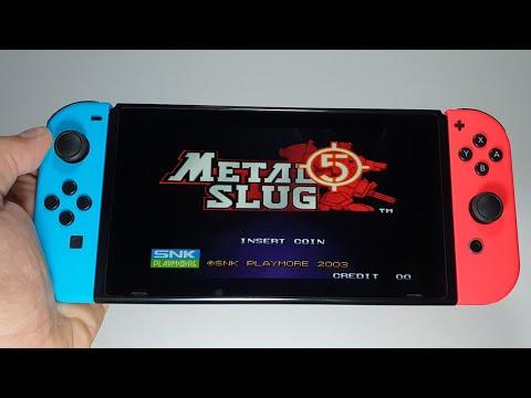 ACA NEOGEO METAL SLUG 5 - Nintendo Switch | The Best Classic Action Game Series Ever