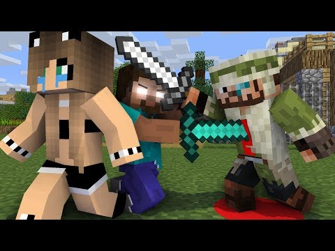 Monster school : Noob and Pro save beautiful girl | Herobrine Life Part 13 - Minecraft Animation