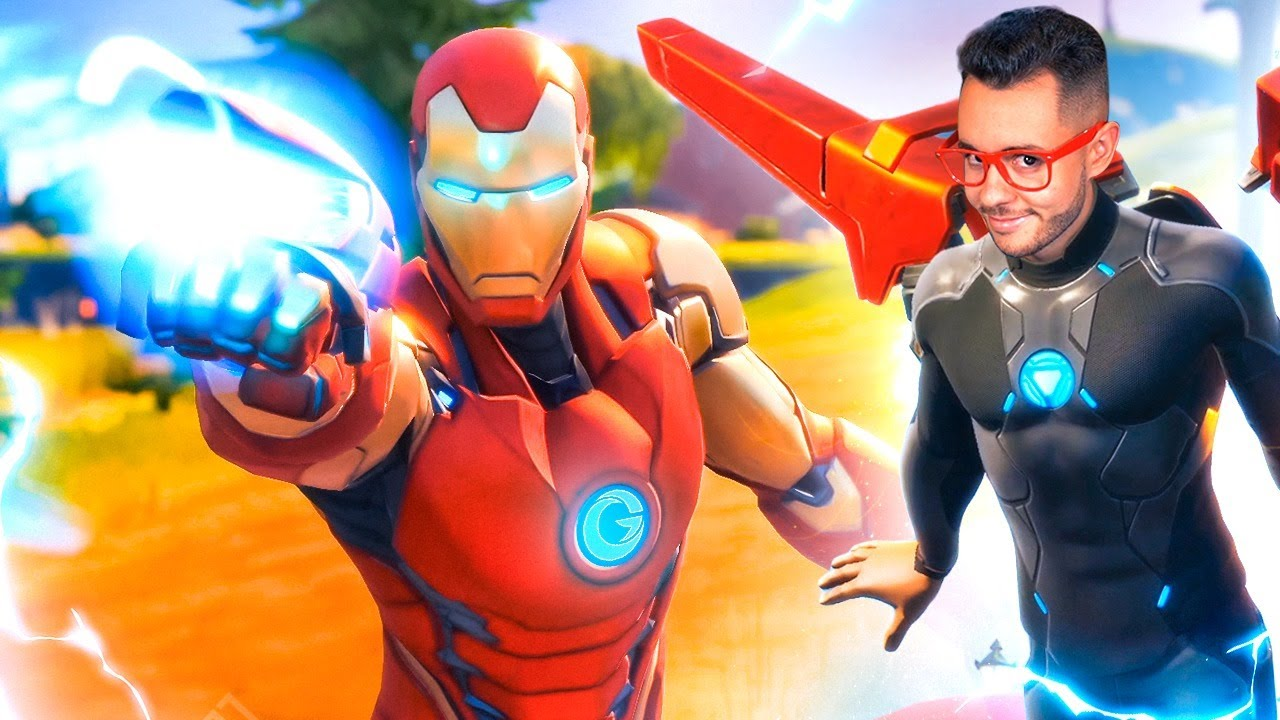 JUGANDO CON IRON MAN EN FORTNITE - TheGrefg