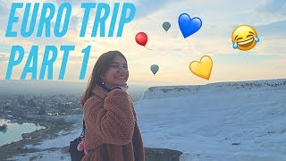 EURO TRIPPP PART 1!! (First Vlog Yay!)