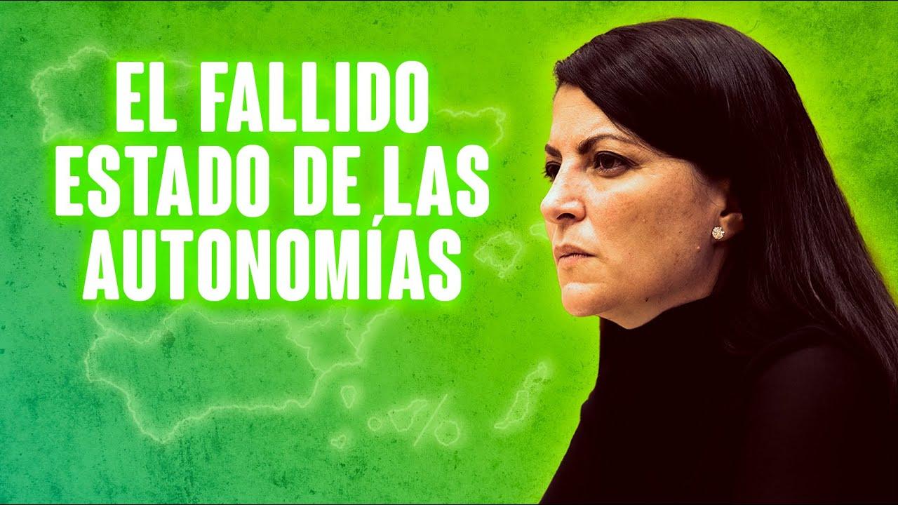 ¡Macarena Olona denuncia el fallido estado de las Autonomías! #FueraAutonomías