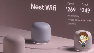Nest Mini и Nest Wi Fi
