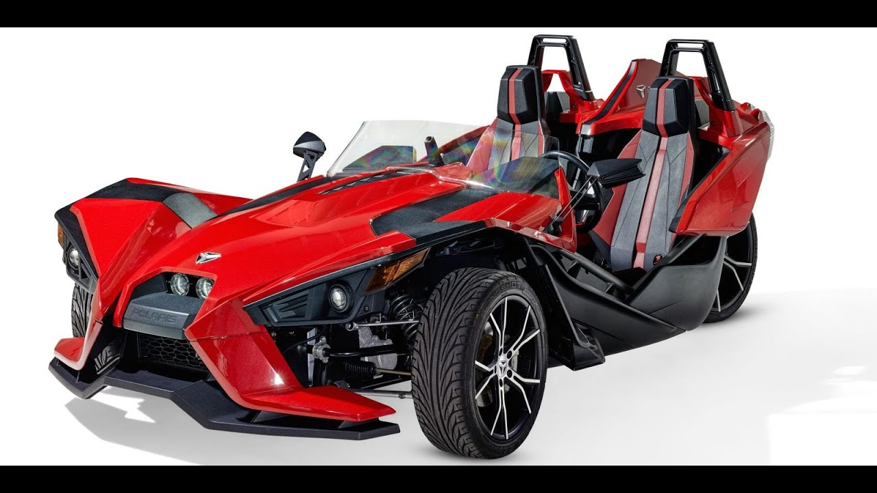 2016 Polaris Slingshot 3 Wheel Motorcycle Reverse Trike
