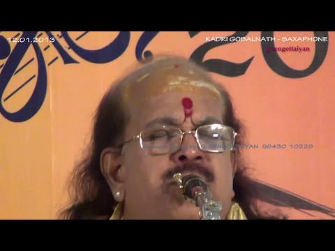 Alai paayuthe - Saxaphone - Kadri Gobalnath - Shanmukhanandha Sangeetha Saba Tirupur