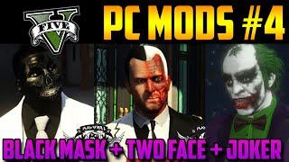 GTA 5 PC MODS (#4): Black Mask, Two Face