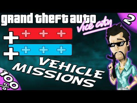 GTA Vice City [:2:] Paramedic, Firefighter, Vigilante, Pizza Boy, Taxi [100% Walkthrough]