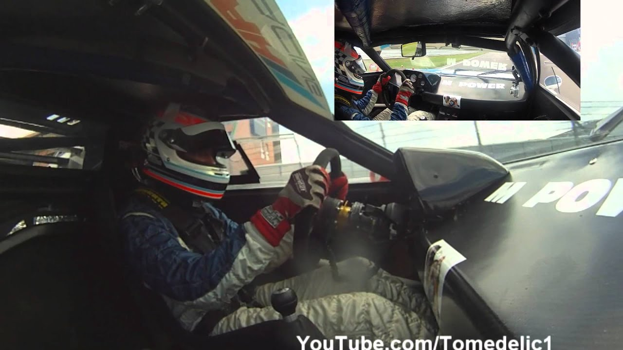 CRAZY BMW M1 Procar Onboard Action on the Nurburgring - Flames, Backfire, Accelerations