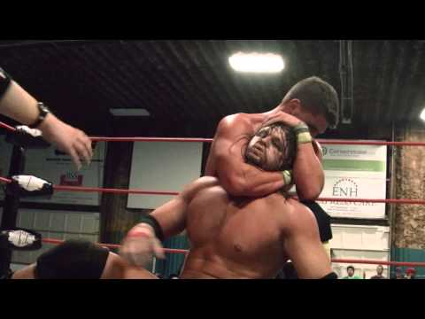 2014-11-22 Chris Cooper vs. Bill Collier -  Empire State Wrestling (ESW)