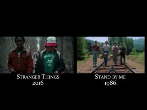 References to 70-80s movies in Stranger Things