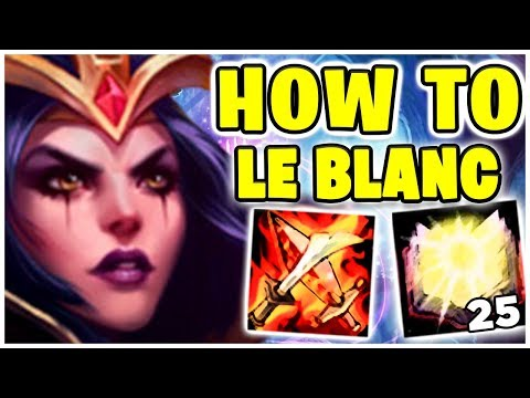 Le Blanc Jump Jump 34 Kills Noway4u Twitch Highlights - League Of Legends
