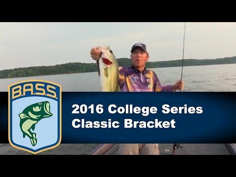 2016 Bassmaster College Classic Bracket