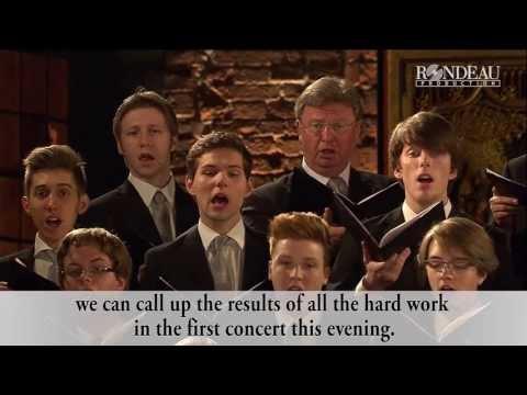 Making Of: Christmas with Johann Sebastian Bach (english subtitles)