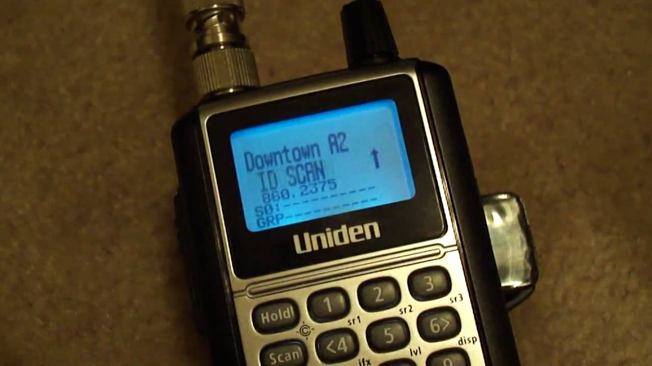 Analog Watch My Bcd396xt Police Scanner P25 - Youtube