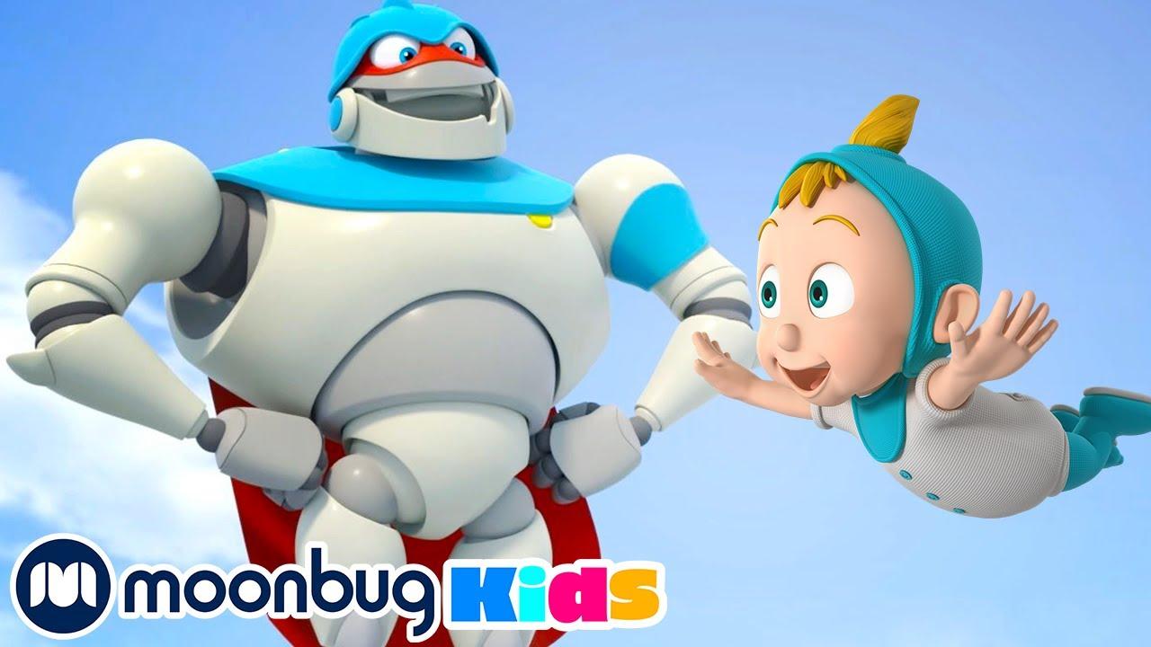 Superhero Arpo Has a CRAZY Dream!!! | Arpo the Robot | Funny Cartoons for Kids | Robots For Kids