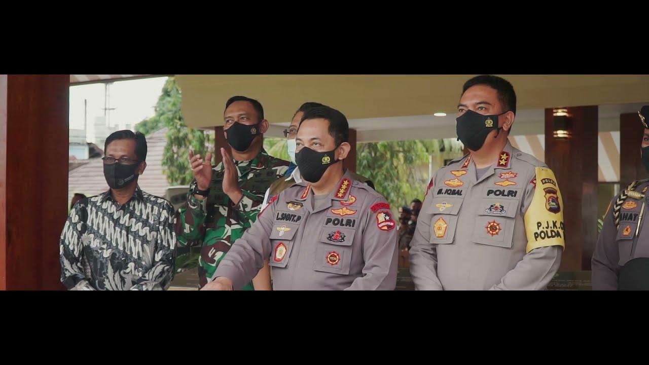 Kapolri Drs. Listyo Sigit Prabowo M.Si Resmikan Inovasi Pembangunan di Polda Nusa Tenggara Barat