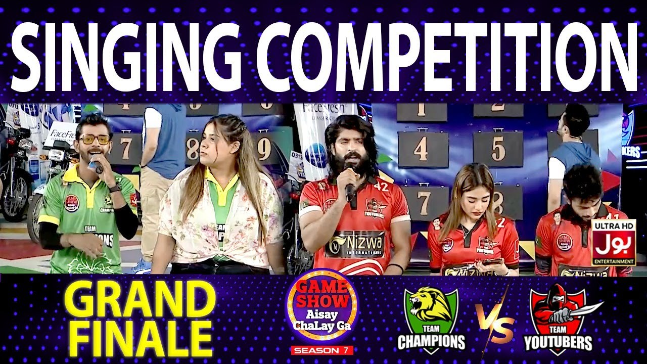 Download Singing Competition In Game Show Aisay Chalay Ga Season 7   Grand Finale   Danish Taimoor Show