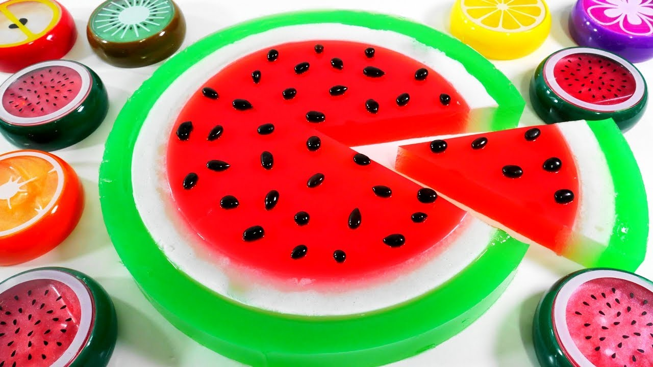 Jelly Cake Making: How To Make Watermelon Jelly Cake