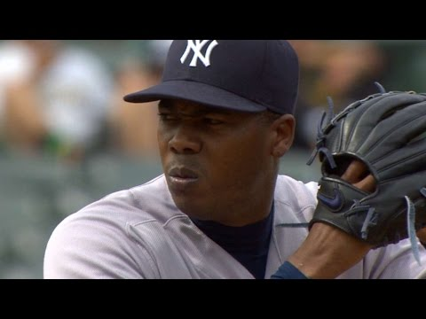 5/22/16: Pineda And Chapman Lead Yankees To 5-4 Win