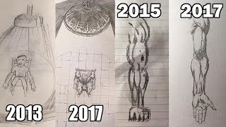 Art Improvement Montage (You're Not Working Hard Enough!)