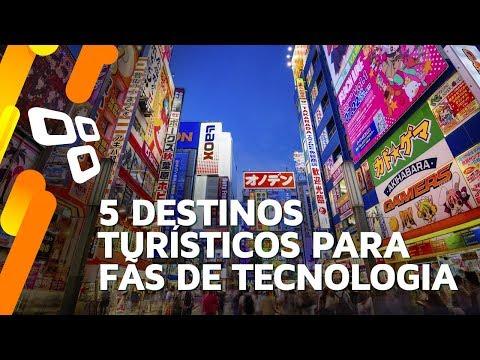 5 destinos turísticos para fãs de tecnologia - TecMundo