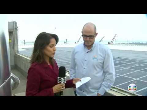 MAIOR TELHADO SOLAR INSTALADO NO AQUA RIO