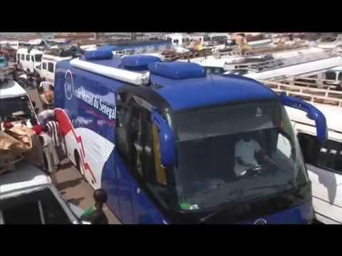 Vidéo promotionnel du Crédit Mutuel du Sénégal,  unité mobile