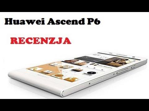 Huawei Ascend P6 - Chiński smartfon klasy premium [RECENZJA]