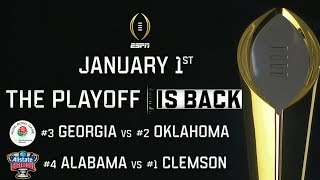 2018 College Football Playoff Commercial