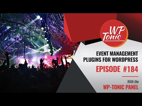 184 WP-Tonic Event Management Plugins For WordPress