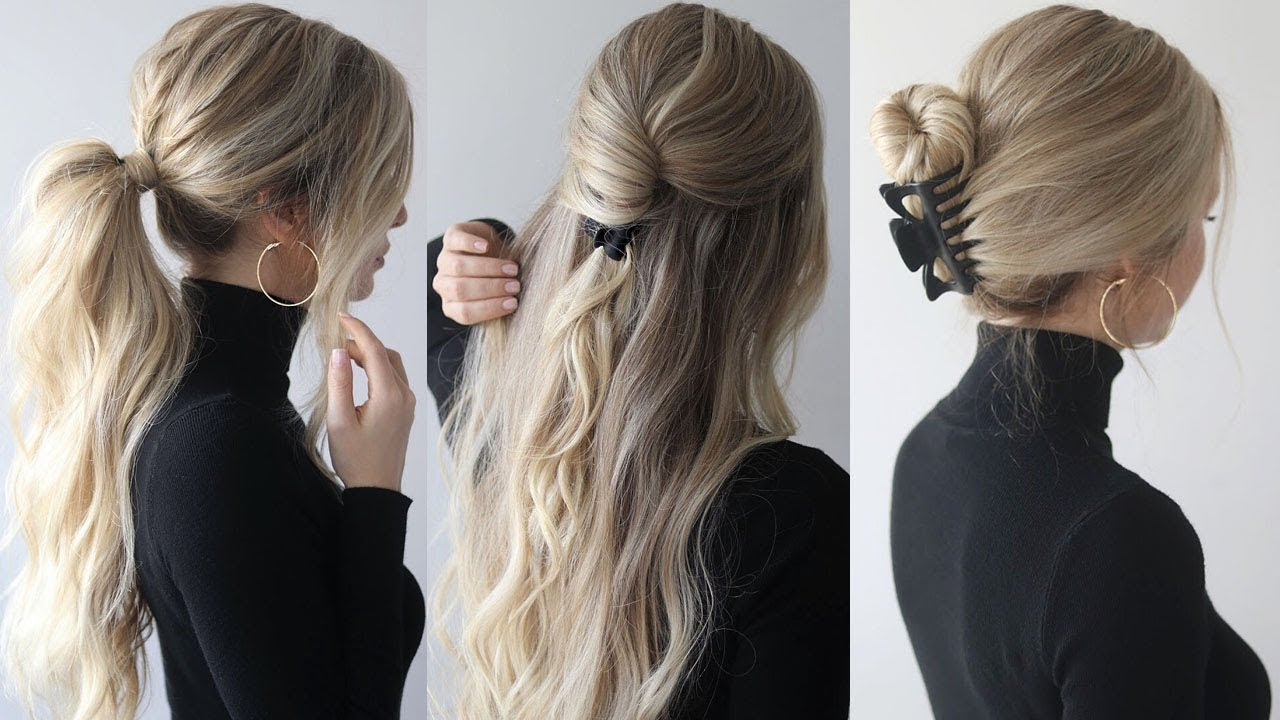easy hairstyles withclaw