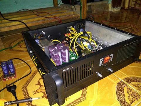 Test Power 400 Watt amps OCL Final 2 Set Sanken Wear and Dangdut Pop Songs