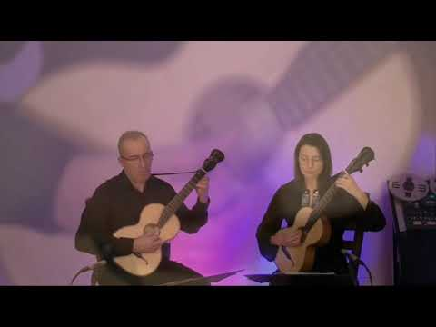 La Rossignol Anna Kowalska & Anton Birula - Terz Guitars Www.luteduo.com