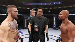 Conor McGregor vs. Floyd Mayweather (EA Sports UFC 2) - CPU vs. CPU