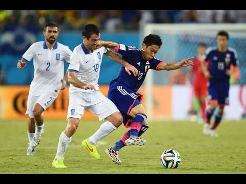 Japan vs Greece 2014 FIFA World Cup Results