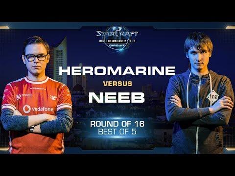 HeRoMaRinE vs Neeb TvP - RO16 - WCS Leipzig 2018 - StarCraft II