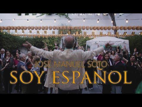 José Manuel Soto estrea a súa canción 'Soy español'
