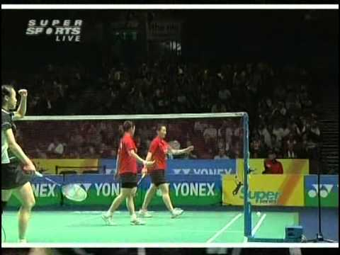 all england open 2009 Yawen ZHANG Tingting ZHAO vs Shu CHENG Yunlei ZHAO All England Open 2009 Final1