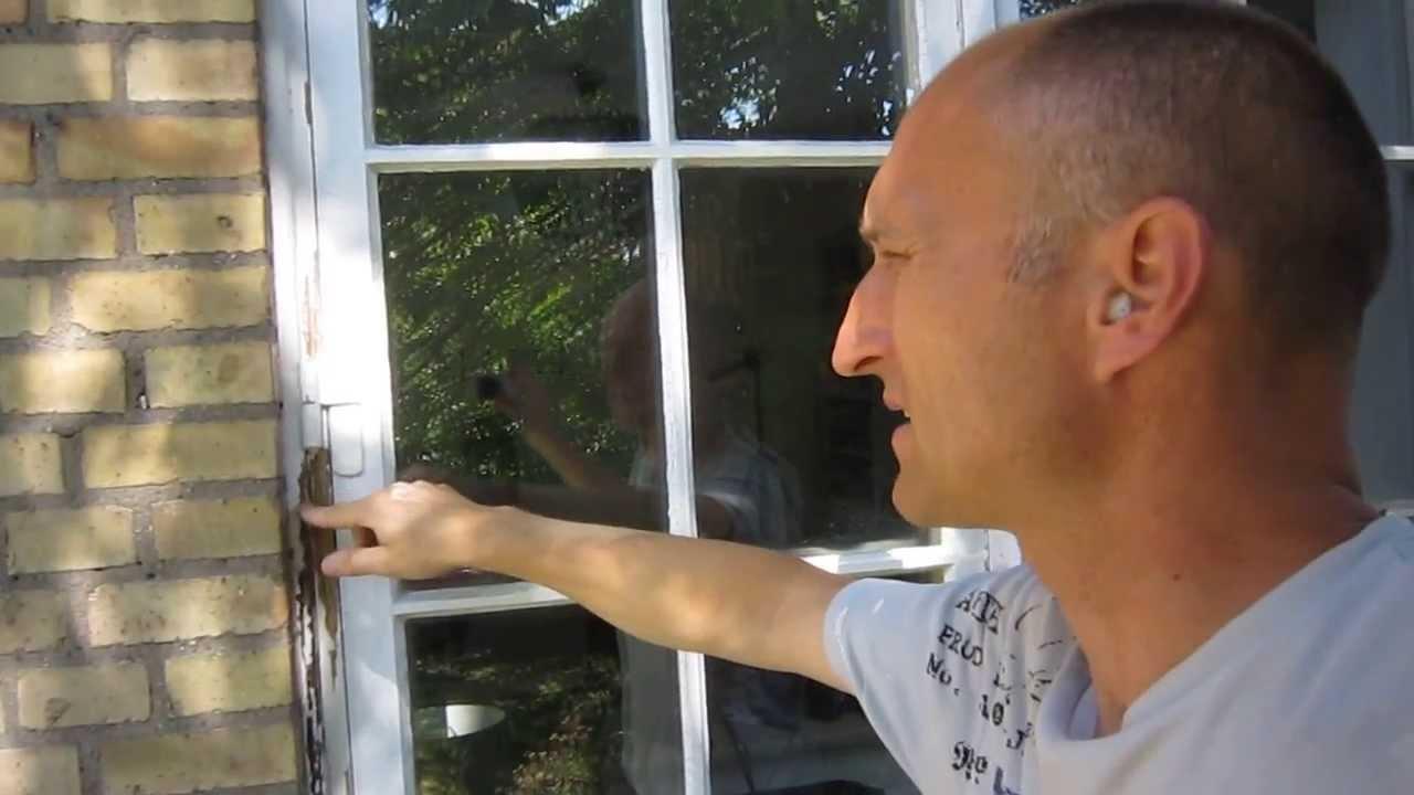 maling av vinduer